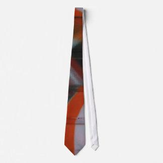 Spray gemalte Krawatte