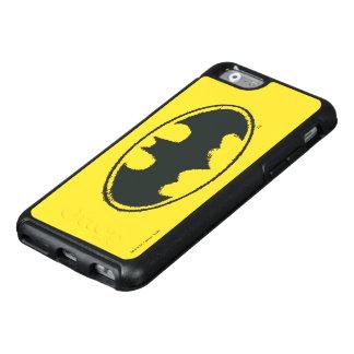 Spray-Schwarz-weißes Logo des Batman-Symbol-| OtterBox iPhone 6/6s Hülle