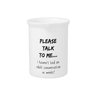 Sprechen Sie bitte mit mir Krug
