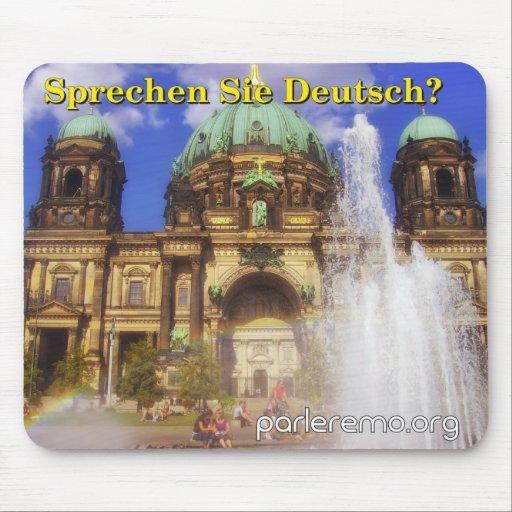 Sprechen Sie Deutsch? Berlin-KathedraleDom, Mousepads
