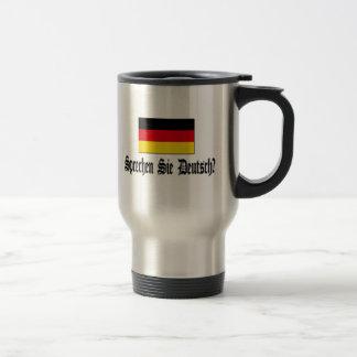 Sprechen Sie Deutsch? Edelstahl Thermotasse