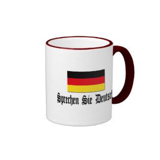 Sprechen Sie Deutsch? Ringer Tasse