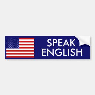 SPRECHEN SIE ENGLISCH AUTOAUFKLEBER