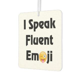 Sprechen Sie fließendes Emoji Autolufterfrischer