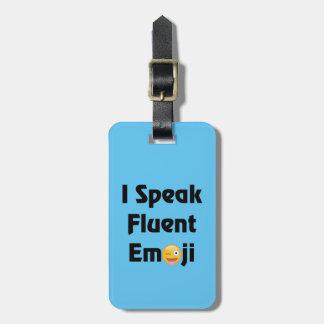 Sprechen Sie fließendes Emoji Kofferanhänger