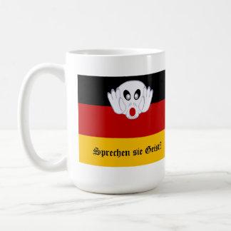 Sprechen sie Geist Deutsch-Staatsflagge Tasse