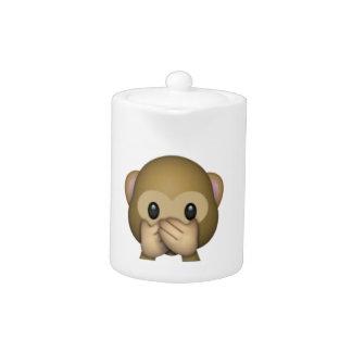 Sprechen Sie keinen schlechten Affen - Emoji