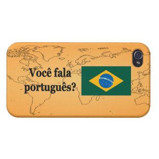 Sprechen Sie Portugiesen? auf portugiesisch. iPhone 4 Case