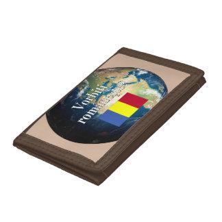 Sprechen Sie Rumänen? auf Rumänen. Flagge u. Erde