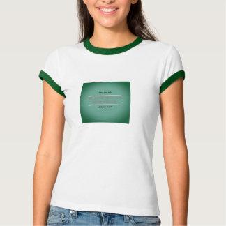 Sprechen Sie sprechen oben heraus T-Shirt