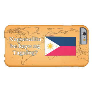 Sprechen Sie Tagalog? auf Tagalog. Flagge wf Barely There iPhone 6 Hülle