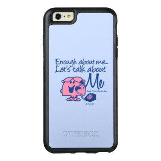 Sprechen Sie über kleines Fräulein Chatterbox OtterBox iPhone 6/6s Plus Hülle