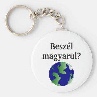 Sprechen Sie Ungarn? auf Ungarn. Mit Kugel Schlüsselanhänger