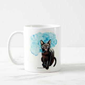 Sprechenkatze sagt kaffeetasse