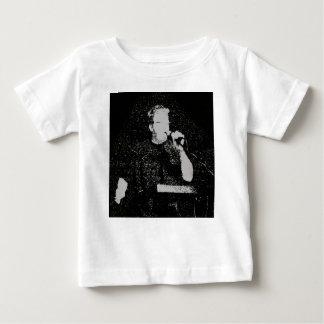 Sprechenzahl Schwarzweiss extrahiert Baby T-shirt