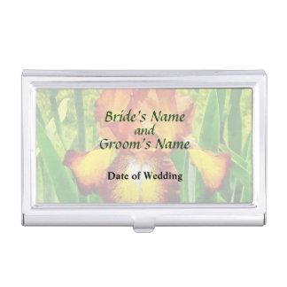 Spreckles Iris-Hochzeits-Produkte Visitenkarten Etui
