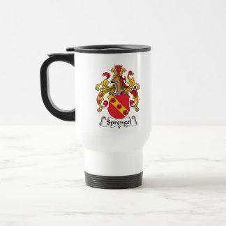 Sprengel Familienwappen Kaffeetasse