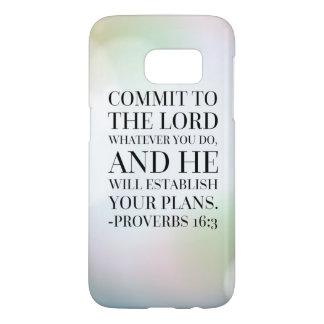Sprichwort-16:3 Bibel-Zitat
