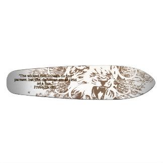 Sprichwort-28:1-Skateboard Individuelle Skateboards