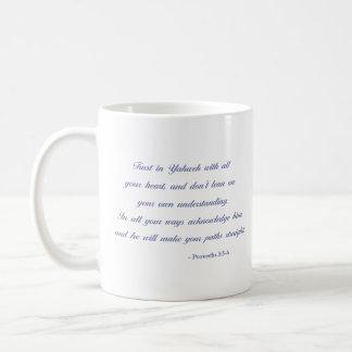 Sprichwort-3:5 - 6% pipe% Lavendel des Kaffeetasse