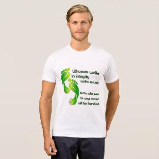 Sprichwort-Integritäts-T - Shirt