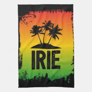 Sprichwort Irie Jamaikas Patwah kühlen sich Küchentuch