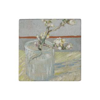 Sprig der blühenden Mandel in einem Glas durch Van Stein-Magnet