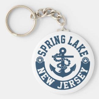 Spring See New-Jersey Schlüsselanhänger