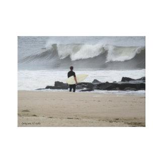 Spring See-Surfer Leinwanddruck