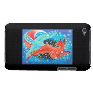 Springen der Tiere, des Fox und des Hasen Case-Mate iPod Touch Hülle