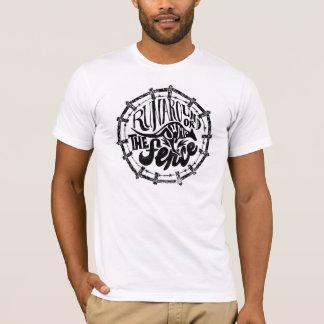 springen Sie den Zaun T-Shirt