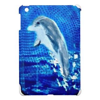 Springen von Delphin-Kunst iPad Mini Hülle