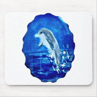 Springen von Delphin-Kunst Mousepad