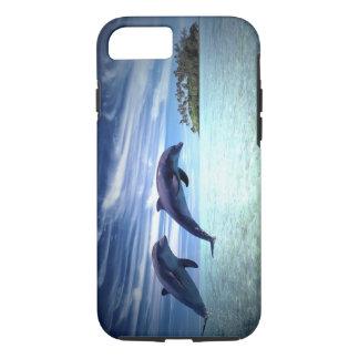 Springende Delphine iPhone 8/7 Hülle