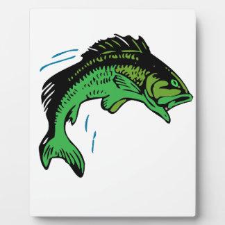 Springende Fische Fotoplatte
