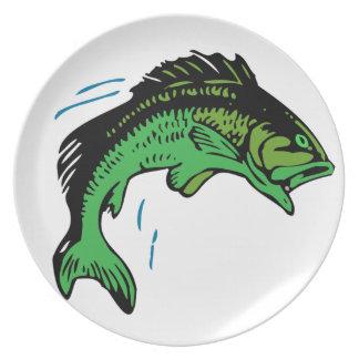 Springende Fische Melaminteller