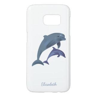Springender Delphinillustrationsname