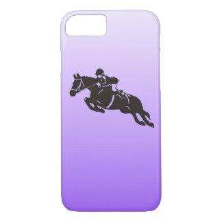 Springender Pferdetelefonkasten iPhone 8/7 Hülle