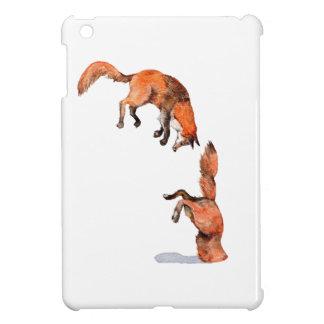 Springender roter Fox iPad Mini Hülle
