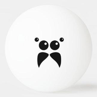 Springender Spinnen-Gesichts-Klingeln Pong Ball Tischtennis Ball