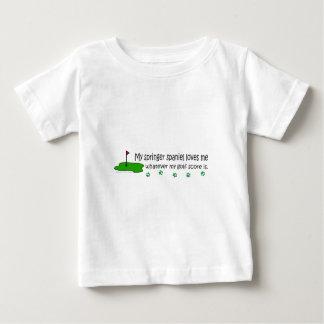 SpringerSpaniel Baby T-shirt