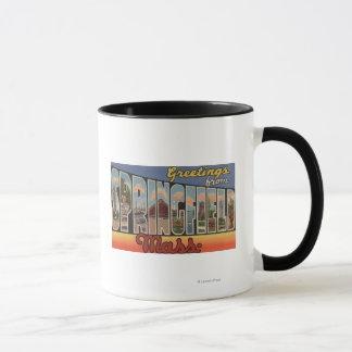 Springfield, Massachusetts - großer Buchstabe Tasse