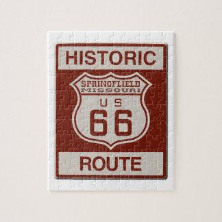 Springfield-Weg 66 Puzzle