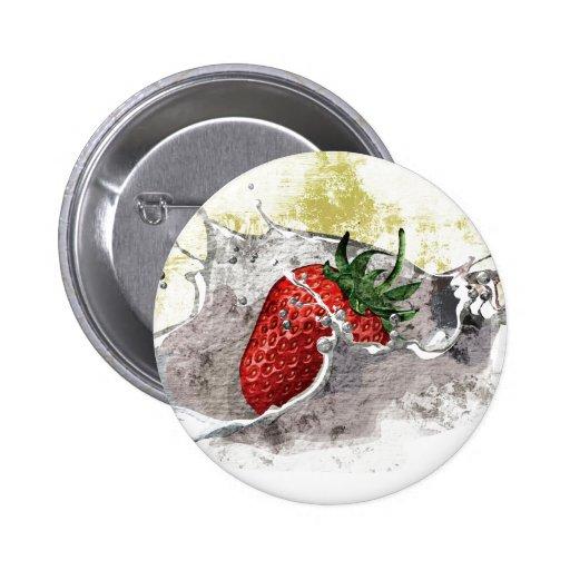 Spritzen der Erdbeere Buttons