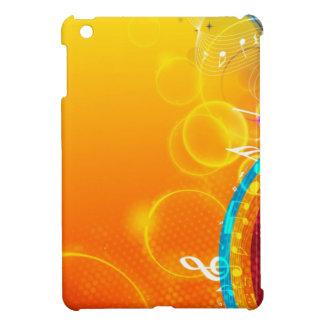 Spritzen der musikalischen Farbe iPad Mini Hülle