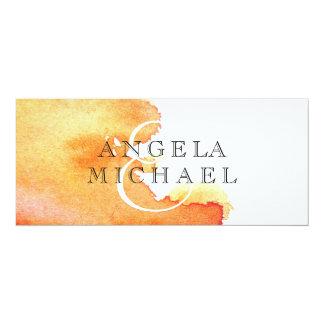 Spritzen des Aquarells Individuelle Einladungskarten