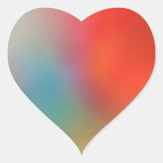 Spritzen des FarbeValentinsgruß-Herzaufklebers Herz-Aufkleber