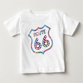 Spritzen des Weges 66 Farb! Baby T-shirt