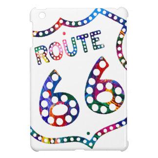 Spritzen des Weges 66 Farb! iPad Mini Hülle