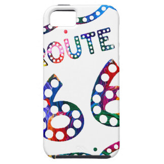 Spritzen des Weges 66 Farb! iPhone 5 Etui